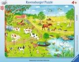 Puzzle Zona Rurala, 48 Piese Ravensburger