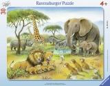 Puzzle Africa Salbatica, 30 Piese Ravensburger