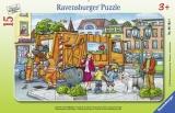 Puzzle Tip Rama Oras, 15 Piese Ravensburger
