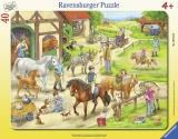 Puzzle Tip Rama Ferma, 40 Piese Ravensburger