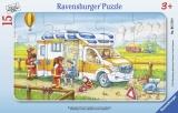 Puzzle Tip Rama Ambulanta, 15 Piese Ravensburger