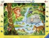 Puzzle Tip Rama Jungla, 24 Piese Ravensburger