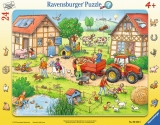 Puzzle Mica Mea Ferma, 24 Piese Ravensburger
