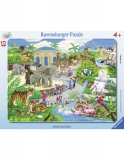 Puzzle Vizita La Zoo, 45 Piese Ravensburger