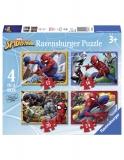 Puzzle Spiderman, 12/16/20/24 Piese Ravensburger
