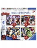 Puzzle Avengers 12/16/20/24 Piese Ravensburger