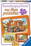 Puzzle Masini, 3X6 Piese Ravensburger