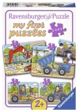 Puzzle Santier, 2/4/6/8 Piese Ravensburger