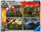 Puzzle Jurassic World, 4X100 Piese Ravensburger