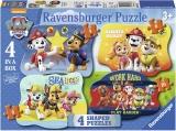 Puzzle Paw Patrol, 4/6/8/10 Piese Ravensburger