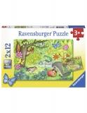 Puzzle Gradina, 2X12 Piese Ravensburger
