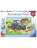 Puzzle Santier, 2X12 Piese Ravensburger