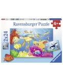 Puzzle Acvatic, 2X24 Piese Ravensburger