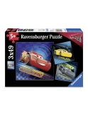 Puzzle Cars, 3X49 Piese Ravensburger