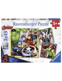 Puzzle Marvel Avengers 3X49 Piese Ravensburger