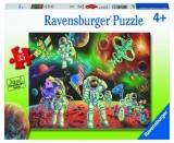 Puzzle Astronauti Pe Luna, 35 Piese Ravensburger