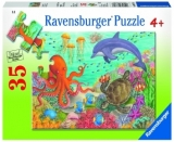 Puzzle Animale Din Ocean, 35 Piese Ravensburger