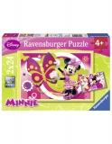 Puzzle- O Zi Cu Minnie, 2X24 Piese Ravensburger