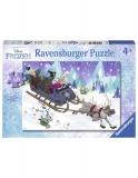 Puzzle Frozen Prieteni Pentru Totdeauna, 60 Piese Ravensburger