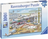Puzzle Santier Pe Aeroport, 100 Piese Ravensburger