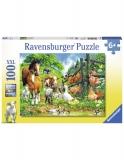 Puzzle Animale, 100 Piese Ravensburger
