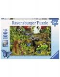 Puzzle Jungla Salbatica, 100 Piese Ravensburger