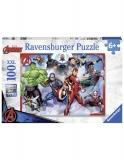 Puzzle Marvel Avengers, 100 Piese Ravensburger