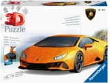 Puzzle 3D Lamborghini Huracan, 108 Piese Ravensburger