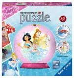 Puzzle 3D Printese Disney, 72 Piese Ravensburger