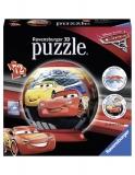Puzzle 3D Cars 3, 72 Piese Ravensburger