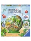 Puzzle 3D Dinozauri, 72 Piese Ravensburger