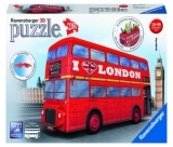 Puzzle 3D Autobuz Londra, 216 Piese Ravensburger