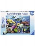 Puzzle Testoase De Ocean, 200 Piese Ravensburger