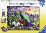 Puzzle Regina Dragonilor, 200 Piese Ravensburger