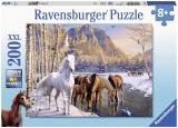 Puzzle Cai Iarna, 200 Piese Ravensburger