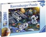 Puzzle Statie Spatiala, 200 Piese Ravensburger