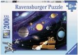 Puzzle Sistemul Solar, 200 Piese Ravensburger