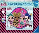 Puzzle Petrecerea Lol, 150 Piese Ravensburger