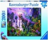 Puzzle Taramul Dinozaurilor, 200 Piese Ravensburger