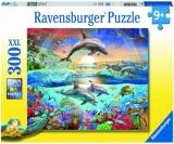 Puzzle Paradisul Delfinilor, 300 Piese Ravensburger