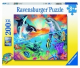 Puzzle Animale Din Ocean, 200 Piese Ravensburger