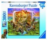Puzzle Cartea Dinozaurilor, 300 Piese Ravensburger