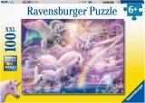 Puzzle Unicorni, 100 Piese Ravensburger