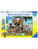 Puzzle Prietenii Africani, 300 Piese Ravensburger