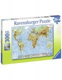 Puzzle Harta Politica, 300 Piese Ravensburger