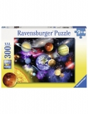 Puzzle Sistemul Solar, 300 Piese Ravensburger
