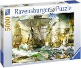 Puzzle Batalie Corabii, 5000 Piese Ravensburger