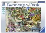 Puzzle Paradisul Gradinarului, 2000 Piese Ravensburger