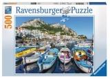 Puzzle Portul Marina, 500 Piese Ravensburger