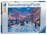 Puzzle Iarna In Paris, 500 Piese Ravensburger